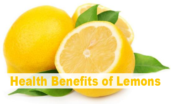 Health Benefits Of Lemons Juice