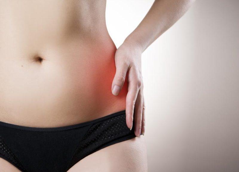 left abdominal pain female
